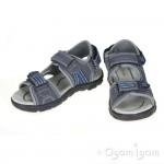 Geox Strada Boys Navy/Royal Sandal