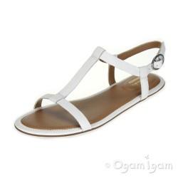 Clarks Risi Hop Womens White Sandal