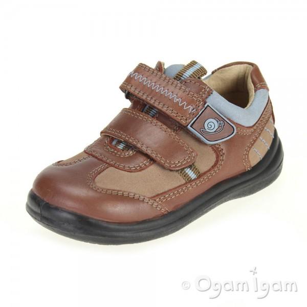 Startrite Rowdy Boys Brown Shoe