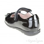 Lelli Kelly Perrie Girls Black Patent School Shoe