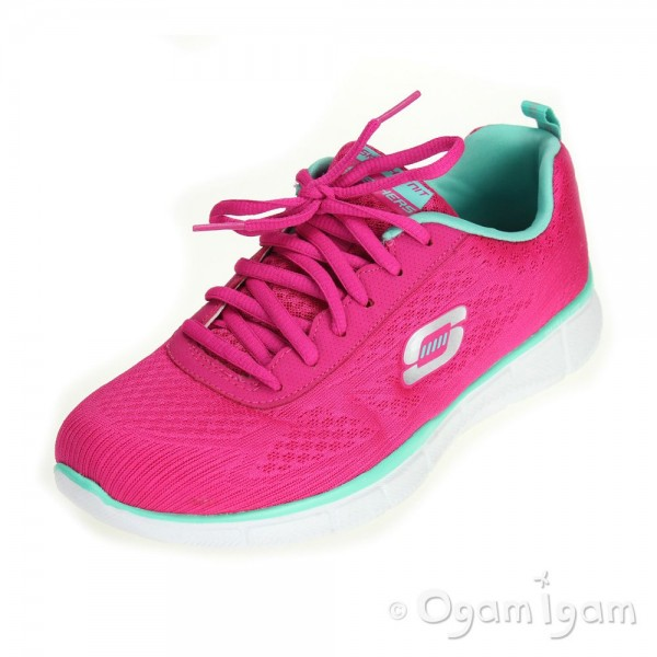 Skechers Equalizer True Form Womens Hot Pink Trainer