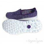 Skechers Go Walk Snapshot Womens Purple