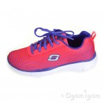 Skechers Equalizer Expect Miracles Girls Pink/Purple Trainer