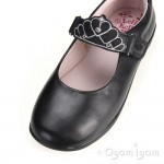 Lelli Kelly Missy Girls Black School Shoe