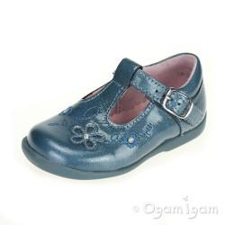 Start-rite Sunflower Girls Teal Blue Shoe