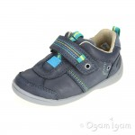 Start-rite Super Soft Zac Boys Navy Shoe