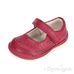 Clarks Softly Ida Fst Girls Berry Shoe
