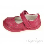 Clarks Softly Ida Fst Girls Berry Shoe