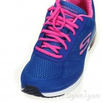 Skechers Skech-Air Infinity Womens Blue Hot Pink Trainer