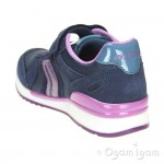Geox Maisie Girl Girls Navy Trainer