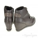 Geox Illusion Dove Grey Womens Dove Grey Boot