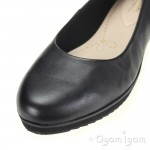 Clarks Compass Zone Womens Black Shoe
