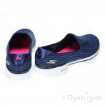 Skechers Go Walk 3 Womens Navy Light Blue Shoe