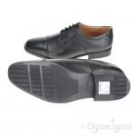 Clarks Tilden Cap Mens Black Shoe
