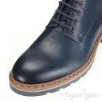 Clarks Dargo Lo Mens Dark Blue Boot