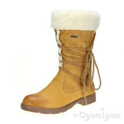 Geox Sofia Girls Ochre Waterproof Boot