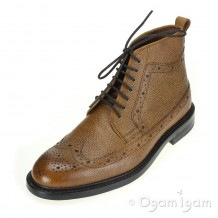 Clarks Edward Lord Mens Tan Interest Leather Boot