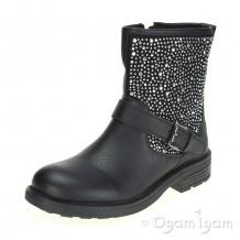 Lelli Kelly Polvere Di Stelle Girls Black Boot