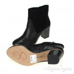 Clarks Aldwych Wood Womens Black Boot