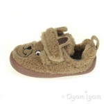 Clarks Shilo Jack Fst Boys Light Brown Slipper