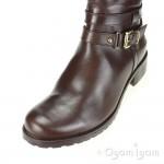 Clarks Nessa Abbey Womens Dark Brown Boot