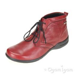 Josef Seibel Fabienne 04 Womens Hibiscus Red Waterproof Boot