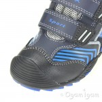 Geox Savage Boys Dark Navy Royal Blue Waterproof Boot