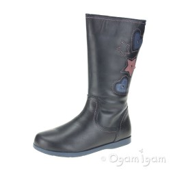 Garvalin 151441 Girls Marino Blue Boot