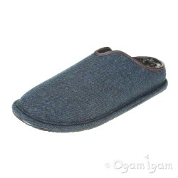 Clarks Kite Lincoln Mens Navy Slipper
