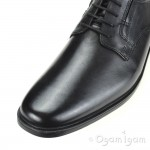 Clarks Tilden Plain Mens Black Shoe