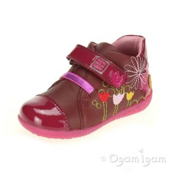 Agatha Ruiz de la Prada 151901 Infant Girls Bordeaux Boot