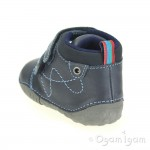 Start-rite Noah Infant Boys Navy Shoe
