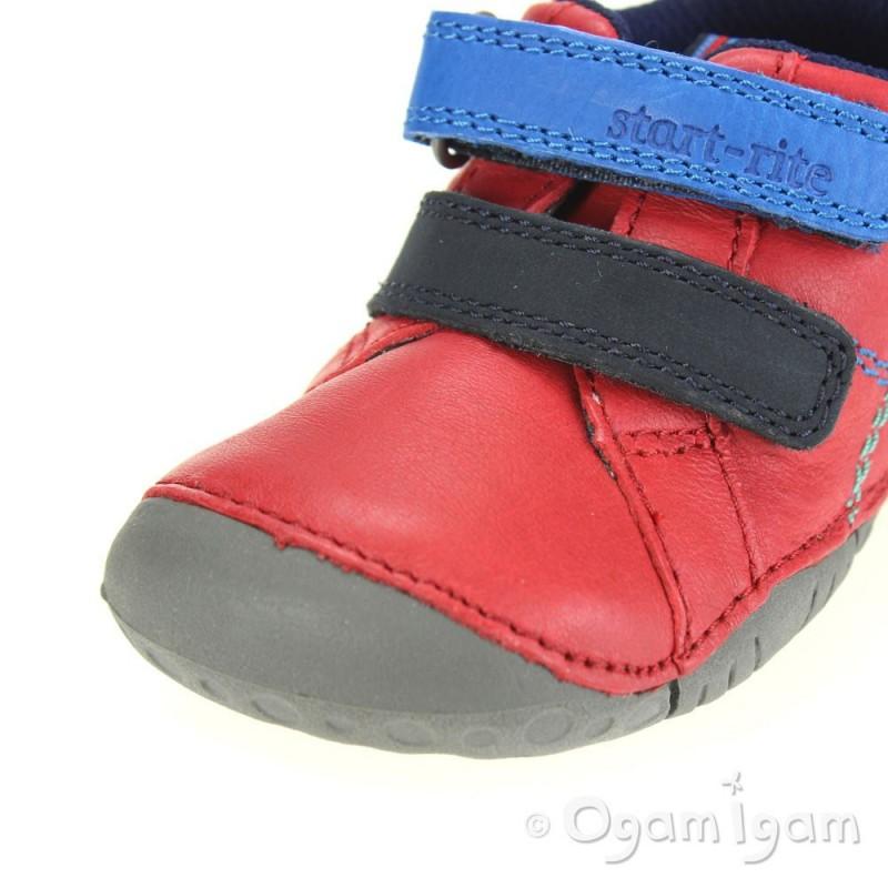Start rite Baby Milan Infant Boys Red Shoe