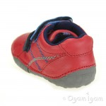 Start-rite Baby Milan Infant Boys Red Shoe