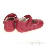 Clarks Little Ida Girls Berry Shoe