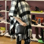 Vera Pelle Womens Black Cross Body Leather Bag