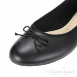 Clarks Couture Bloom Womens Black Leather Shoe