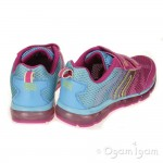 Geox Android Girls Fuchsia Sky Trainer