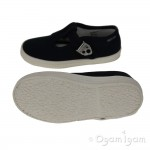 Start-rite Wells Boys Navy Canvas Shoe