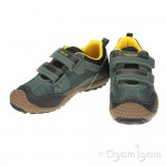 Geox Marlon Boys Military/Yellow Trainer