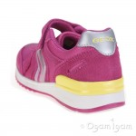 Geox Maisie Girls Fuchsia Trainer