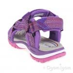 Geox Borealis Girls Fuchsia Sandal