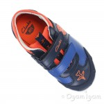 Clarks JetskyBuzz Inf Boys Navy Combi Shoe