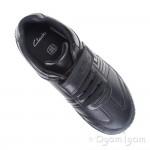 Clarks LeaderPlay Inf Boys Black School Shoe