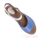 Clarks Tustin Sinitta Womens Blue Combi Sandal