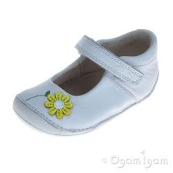 Clarks Little Jam Infant Girls White Shoe