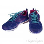 Skechers Skech Air Infinty Wildcard Womens Blue/Hot Pink Trainer