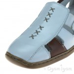 Rieker 41385 Womens White Shoe