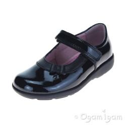 Start-rite Maria Girls Black Patent School Shoe