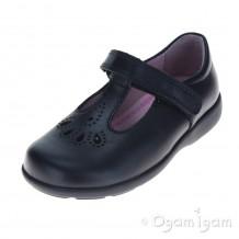 Start-rite Daisy May Girls Black School Shoe